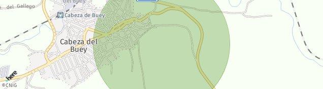 Mapa Cabeza del Buey