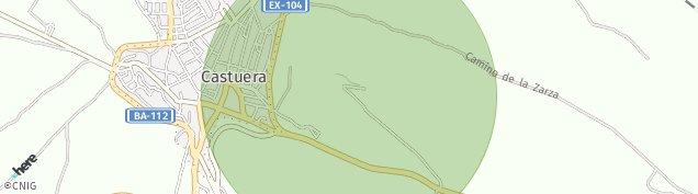 Mapa Castuera