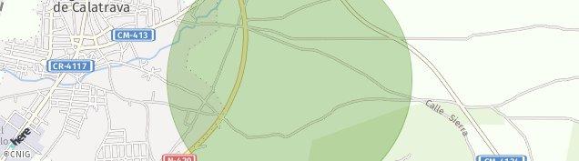 Mapa Argamasilla de Calatrava