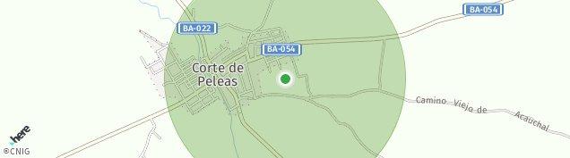 Mapa Corte de Peleas