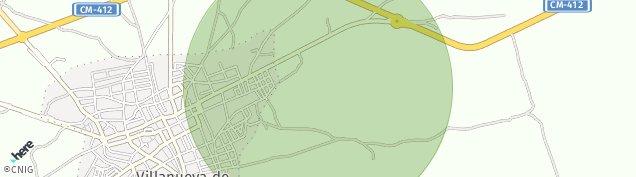 Mapa Villanueva de los Infantes