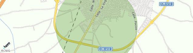 Mapa Valdepeñas