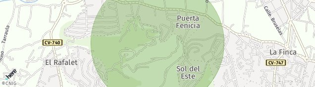 Mapa Sol del Este