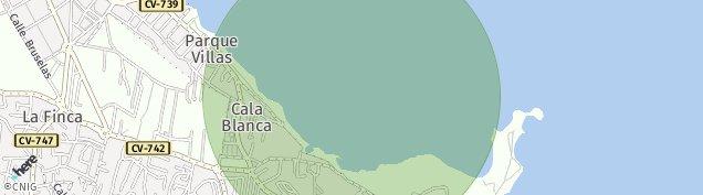 Mapa Toscal