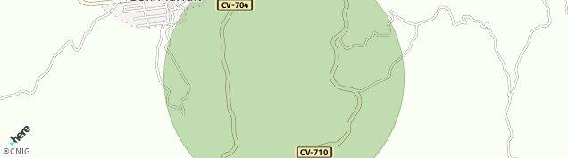 Mapa Benimarfull