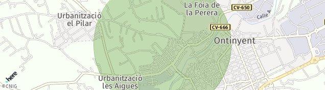 Mapa Ontinyent