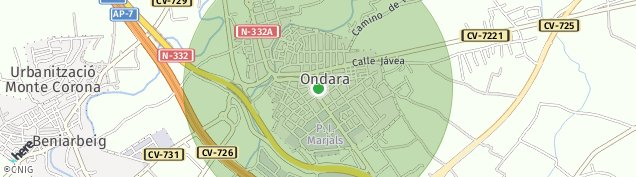 Mapa Partida Tosals