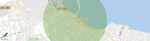 Mapa Corral de Calafat