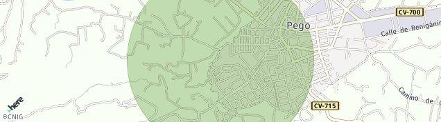 Mapa Pego