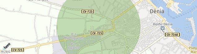Mapa Saladar