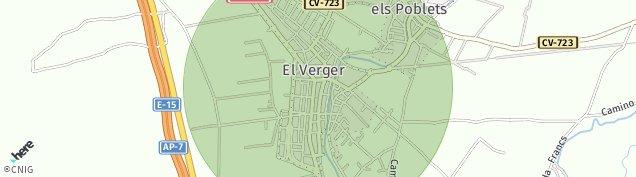 Mapa El Verger