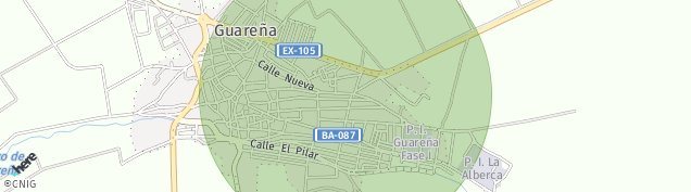 Mapa Guareña