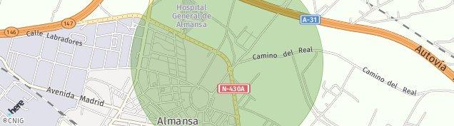 Mapa Almansa