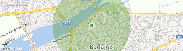 Mapa Badajoz