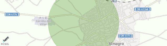 Mapa Almagro
