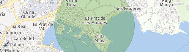Mapa Cap Martinet