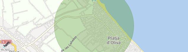 Mapa Oliva