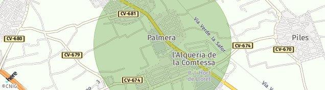 Mapa Alquería de la Condesa