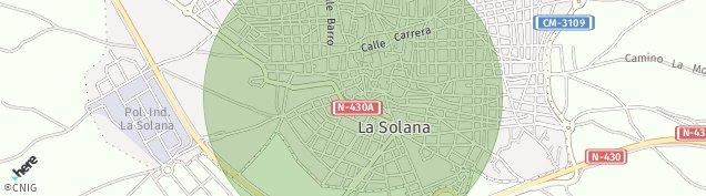 Mapa La Solana