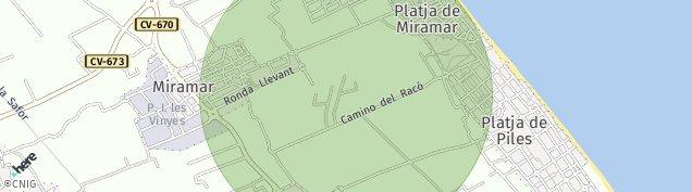Mapa Miramar