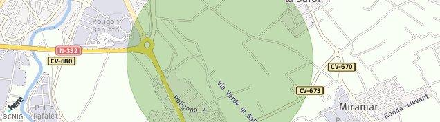 Mapa Palmera