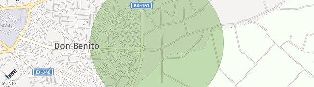 Mapa Don Benito