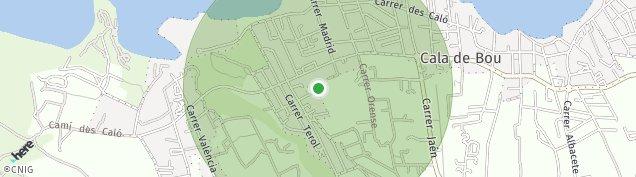 Mapa Nucleo Sant Josep de Sa Talaia