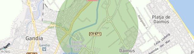 Mapa Daimús