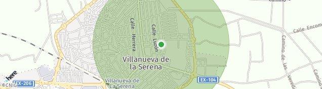 Mapa Villanueva de la Serena