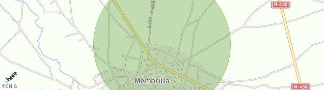 Mapa Membrilla