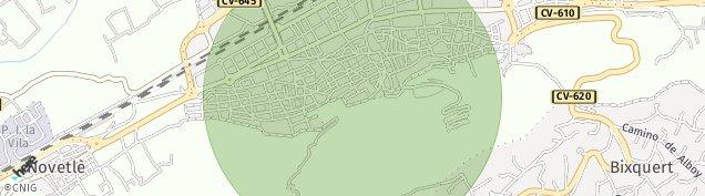 Mapa Xativa