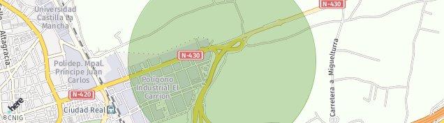 Mapa Ciudad Real