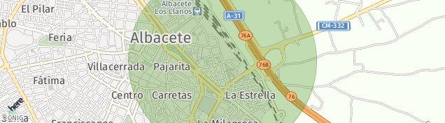 Mapa Albacete