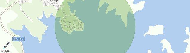 Mapa Orellana la Vieja
