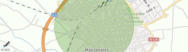Mapa Manzanares