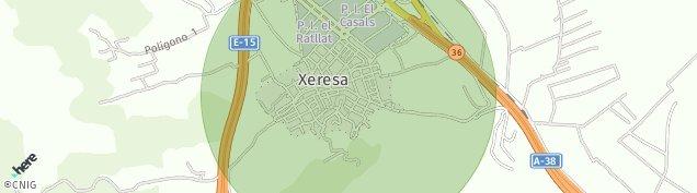 Mapa Xeresa