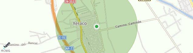 Mapa Xeraco