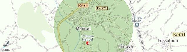 Mapa Manuel