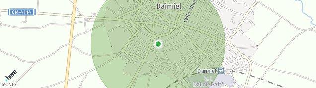 Mapa Daimiel