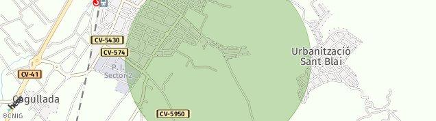 Mapa Carcaixent