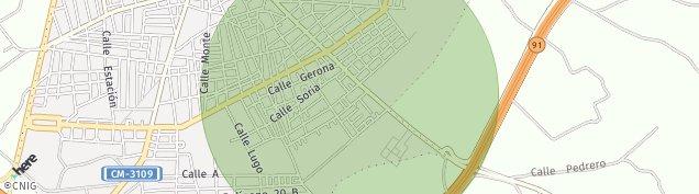 Mapa Tomelloso