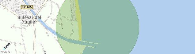 Mapa El Marenyet