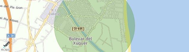Mapa Cullera