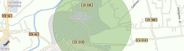 Mapa Alzira