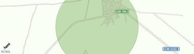 Mapa Motilleja