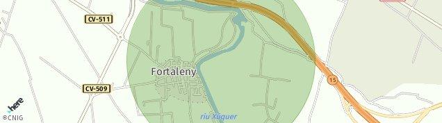 Mapa Fortaleny