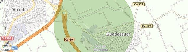 Mapa Guadassuar