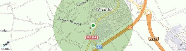 Mapa L'Alcúdia