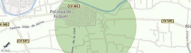 Mapa Polinya de Xuquer