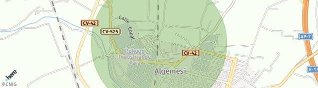 Mapa Algemesí
